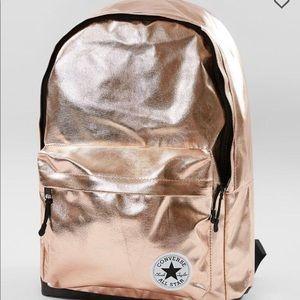 Converse Metallics Backpack metallic rose quartz